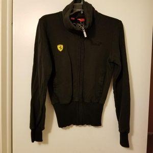 Puma Scuderia Ferrari Full Zip Black Jacket